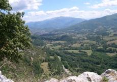 De nombreuses possibilité de randonner en moyenne montagne.