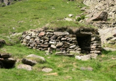 Un orry, habitat traditionnel des bergers.