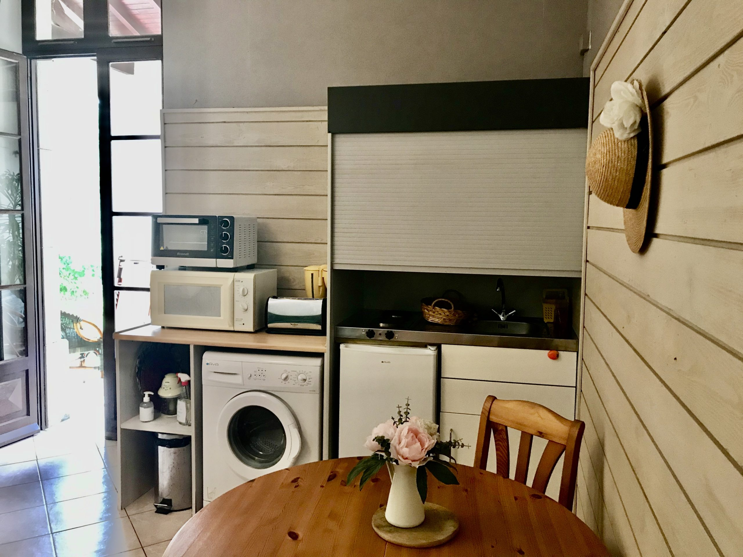 La petite cuisine intégrée